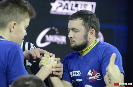 Dmitry Shubaba: Armwrestling is the power of the hands and the desire to win. # Armwrestling # Armpower.net
