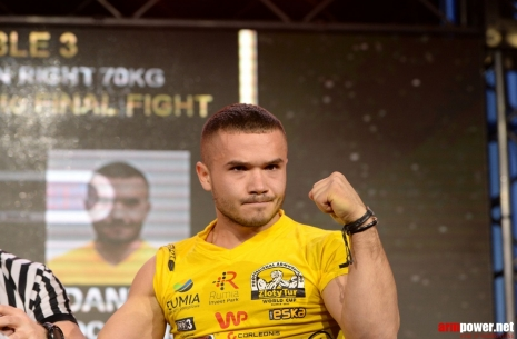 "Daniel Procopciuc: ""I could not properly defend against Talgat Aktaev"" # Armwrestling # Armpower.net"