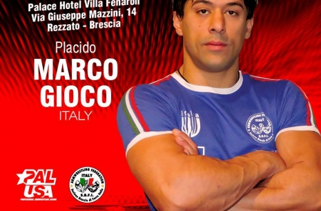 "Marco Gioco: ""I am not completely happy with my preparation"" # Armwrestling # Armpower.net"