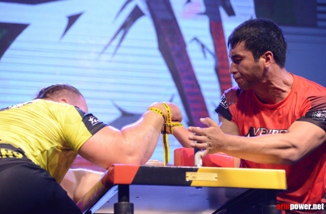 Kydyrgali Ongarbayev: I will prepare to win # Armwrestling # Armpower.net