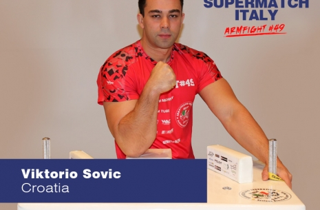 "Viktorio Sovic: ""I will be ready for anyone who wants to pull"" # Armwrestling # Armpower.net"