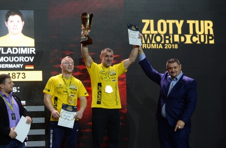 Zloty Tur-2018: left hand results # Armwrestling # Armpower.net