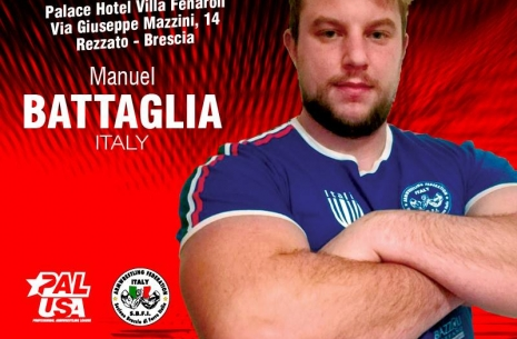 At the finish line: Manuel Battaglia # Armwrestling # Armpower.net
