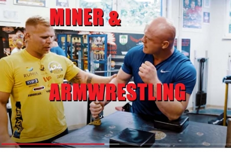 THE STRONGEST MINER IN THE WORLD & ARMWRESTLING # Armwrestling # Armpower.net