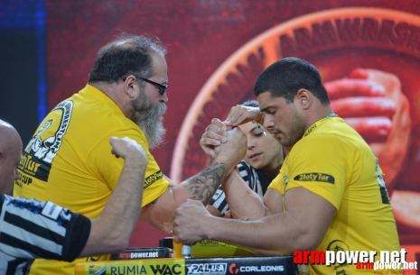 The third stage of the top - 8. Tim Bresnan against Dmitry Trubin # Armwrestling # Armpower.net