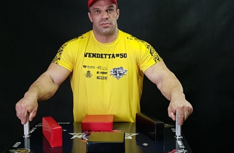 Denis Tsyplenkov began preparations for the TOP 8. # Armwrestling # Armpower.net