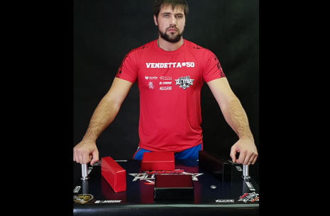 Vitaly Laletin will join the TOP 8. # Armwrestling # Armpower.net