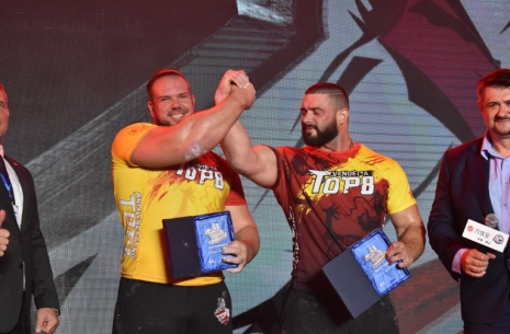 Alex Kurdecha: Dmitry was simply stronger than me # Armwrestling # Armpower.net