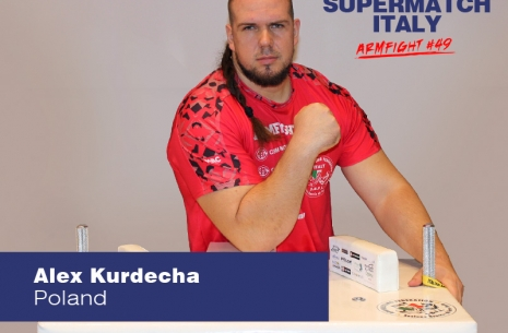 "Alex Kurdecha: ""It was a super match!"" # Armwrestling # Armpower.net"