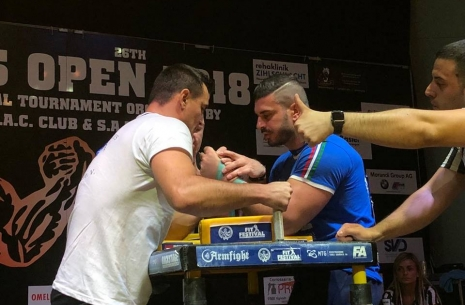 Swiss Open is over! Official results. # Armwrestling # Armpower.net
