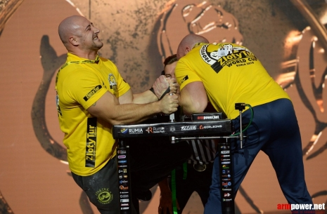 Krasimir Kostadinov: Levan is a favorite in my eyes! # Armwrestling # Armpower.net