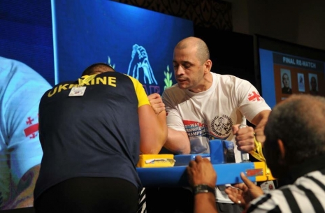 Beso Lekiashvili: I started training when I lost # Armwrestling # Armpower.net