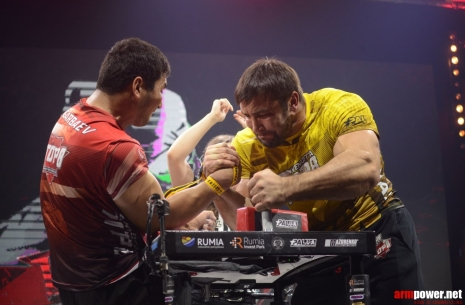 Evgeny Prudnik: I want to finally fight with Levan! # Armwrestling # Armpower.net