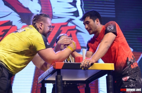 Kurdecha vs. Ongarbaev: the case in subtleties # Armwrestling # Armpower.net