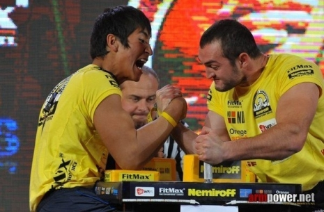 Ongarbaev: Discipline reigns in Shardara-Armsport # Armwrestling # Armpower.net