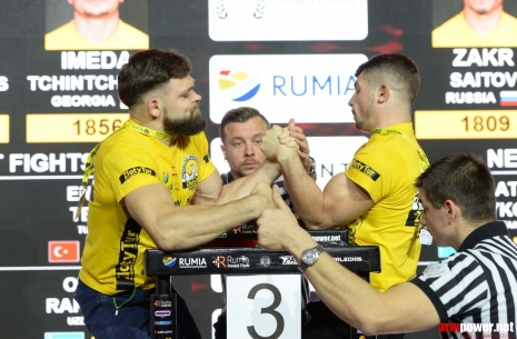 Klaidas Marčiukaitis: I am worrying only about my weight # Armwrestling # Armpower.net