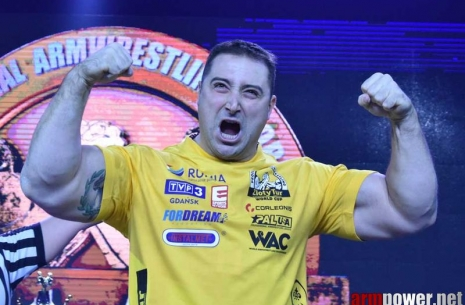 Krasimir Kostadinov: «105 kg is my category!» # Armwrestling # Armpower.net