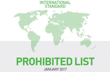 The new list of prohibited substances by WADA # Armwrestling # Armpower.net