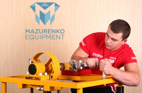 Train with Mazurenko equipment - Mechanical Arm  # Armwrestling # Armpower.net