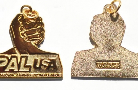 PAL USA GOLD PENDANT # Armwrestling # Armpower.net