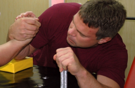 Side hook technique by John Brzenk  # Armwrestling # Armpower.net
