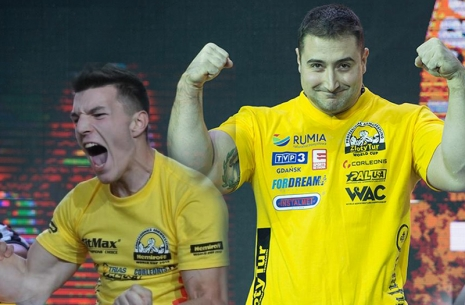 Krasimir Kostadinov and Ermes Gasparini: results of the year # Armwrestling # Armpower.net