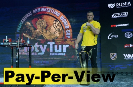 Zloty Tur and Pay-Per-View: How it began # Armwrestling # Armpower.net