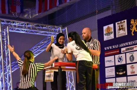 "Mariam Mahmoud: ""I started to do armwrestling on my own"" # Armwrestling # Armpower.net"