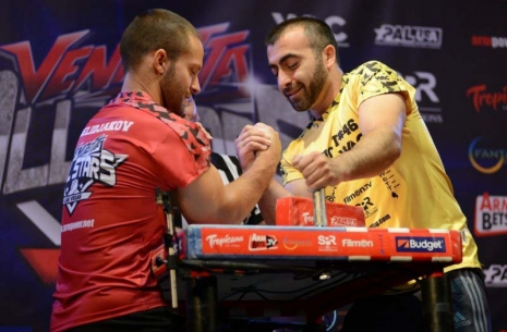 "Vazgen Soghoyan: ""I'm going to win for the third time!"" # Armwrestling # Armpower.net"