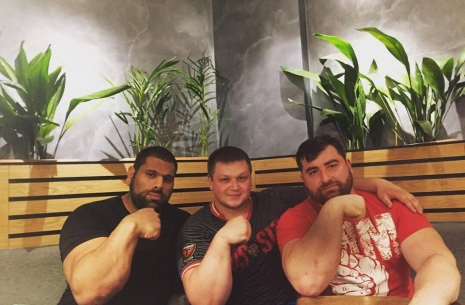 Dmitry Silaev: Georgia is growing a huge giant! # Armwrestling # Armpower.net