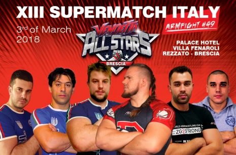 XIII SUPERMATCH ITALY # Armwrestling # Armpower.net