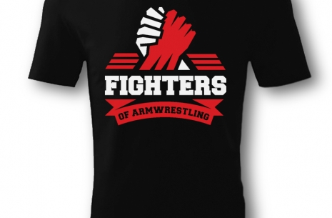 Fighters T-shirt # Armwrestling # Armpower.net