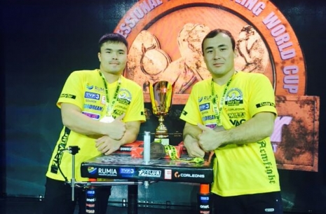 "Shynbolat Raihanov: ""I want to become a three-time world champion"" # Armwrestling # Armpower.net"