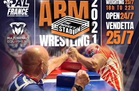 ARMWRESTLING CALENDAR 2021 # Armwrestling # Armpower.net