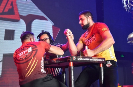 Vitaly Laletin: I look forward to a great power from Levan # Armwrestling # Armpower.net