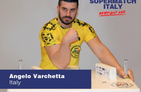 "Angelo Varchetta: ""The Super Match was an excellent tournament"" # Armwrestling # Armpower.net"