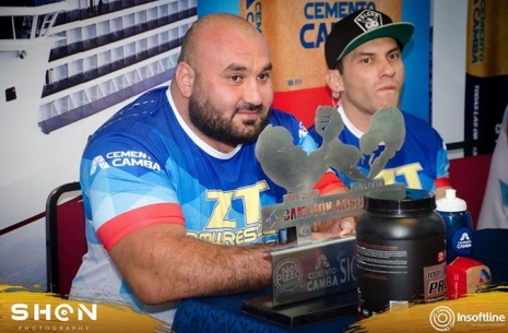 "Mirtaleh Aslanov: ""Zloty Tur"" is a different power, different experience! # Armwrestling # Armpower.net"