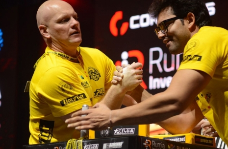 Joseph Fox: Raimonds, let's leave everything on the table in Kyiv # Armwrestling # Armpower.net