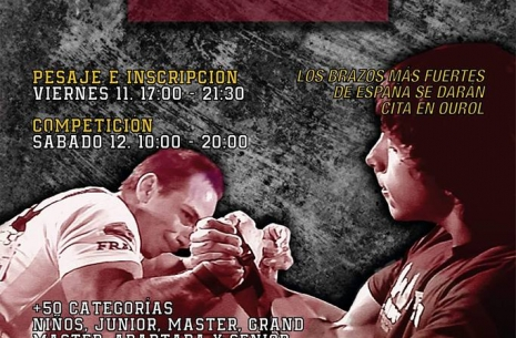 XXVII Spanish Nationals Championship # Armwrestling # Armpower.net