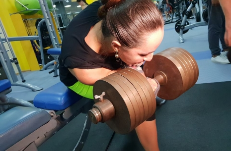 Snezhana Babaeva: If I pulled this, Rustam would fall into depression # Armwrestling # Armpower.net