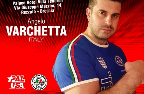 Angelo Varchetta: Work harder for Vendetta # Armwrestling # Armpower.net