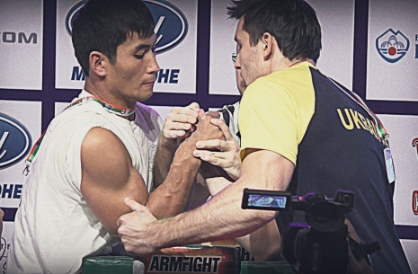 The third stage of the Top 8. Evgeny Prudnik - Kydyrgali Ongarbayev # Armwrestling # Armpower.net