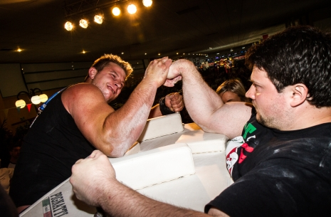 "Manuel Battaglia: ""I am sure it will be very hard Vendetta"" # Armwrestling # Armpower.net"
