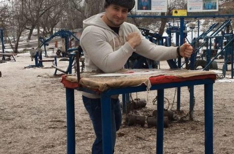 Krasimir Kostadinov: I want to become an overall champion # Armwrestling # Armpower.net