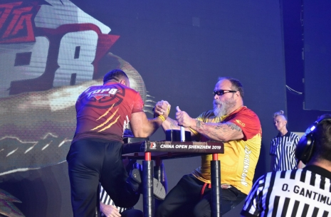 Rustam Babaev - Tim Bresnan: a review from Igor Mazurenko # Armwrestling # Armpower.net