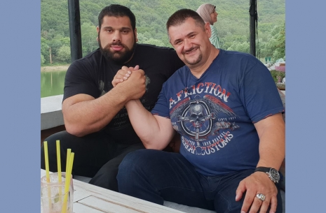 Mazurenko Armwrestling Promotion plan for Georgia is working just great! # Armwrestling # Armpower.net