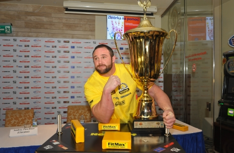 Dave Chaffee: My goal is to be #1 in the world over all, beat Pushkar right now! # Armwrestling # Armpower.net