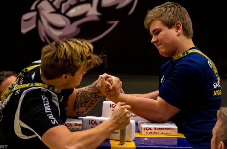 Swedish Nationals: opponents will be surprised # Armwrestling # Armpower.net