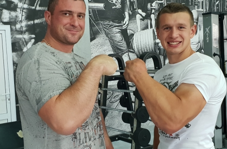 Mazurenko Challenge 2: Oleg Zhokh and Andrei Pushkar keep setting new records!  # Armwrestling # Armpower.net