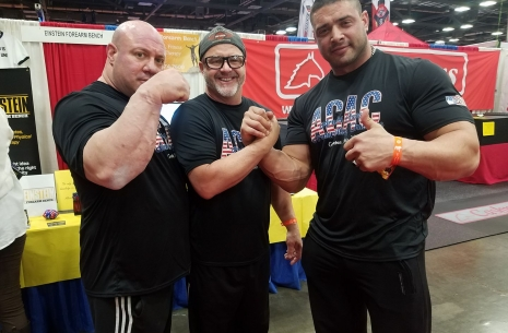"Dmitry Trubin: ""Nobody expected an easy fight at Arnold Classic"" # Armwrestling # Armpower.net"